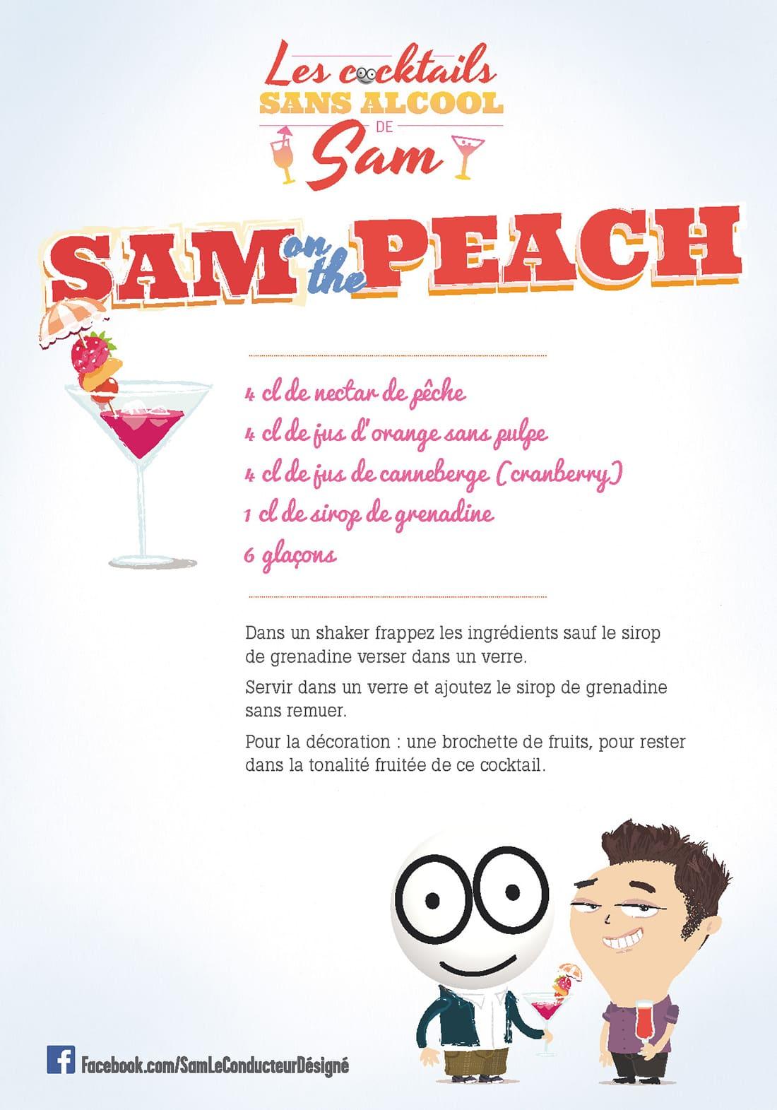 Sécurité Routière cocktail sans alcool