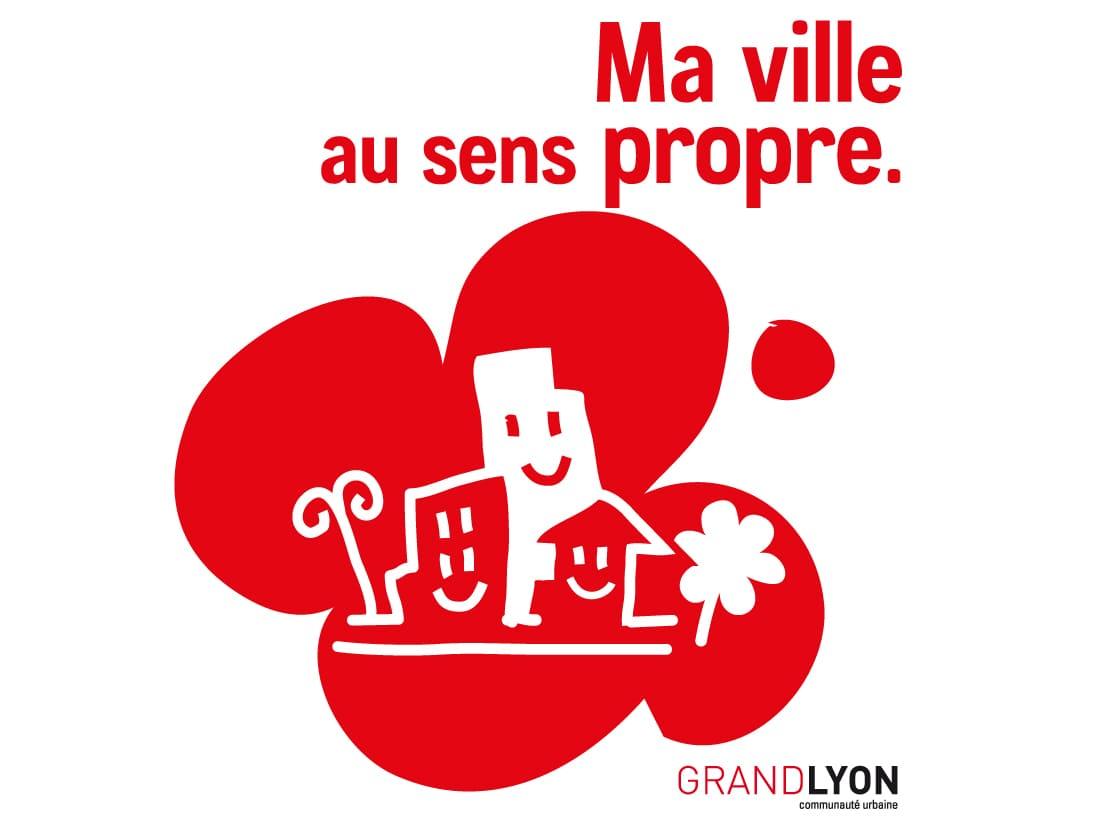 illustration des sacs propreté du Grand Lyon