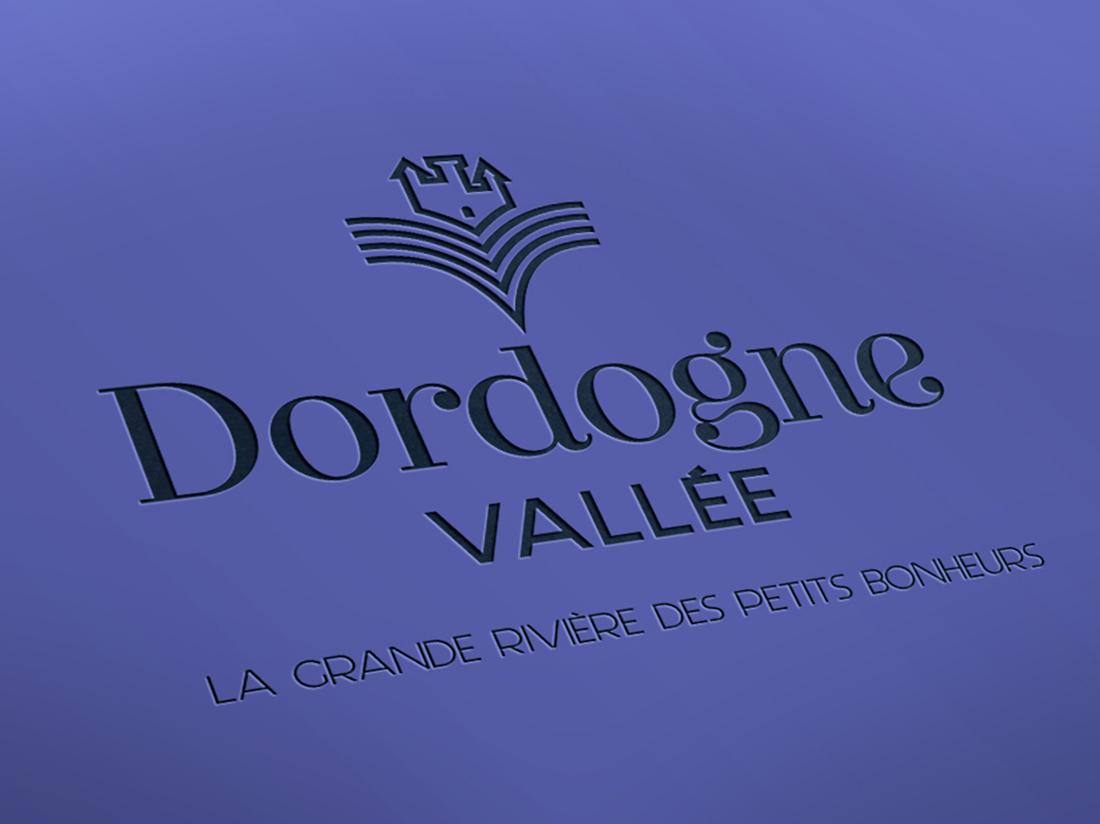 design graphique Dordogne Vallée