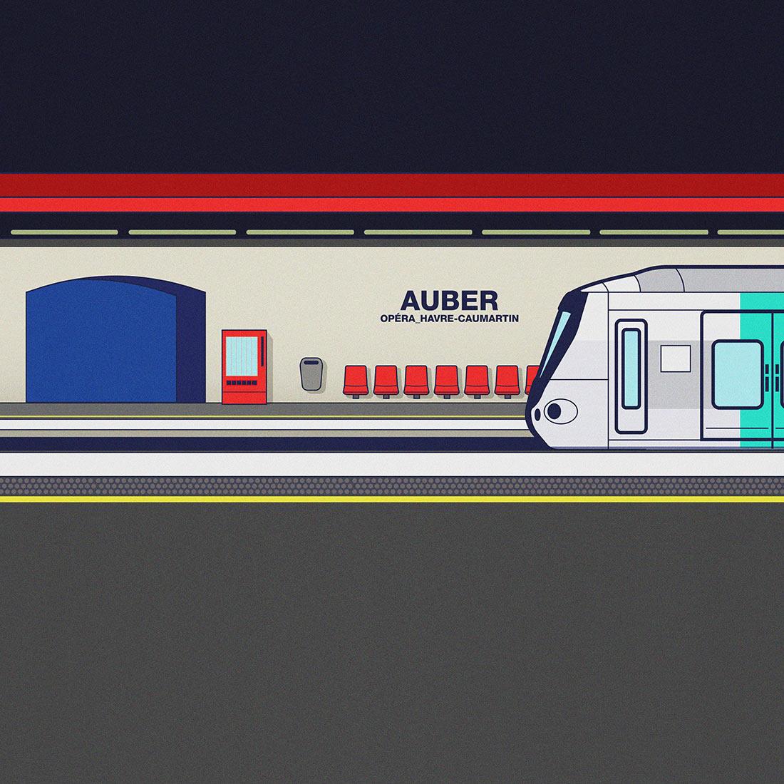 RATP Auber
