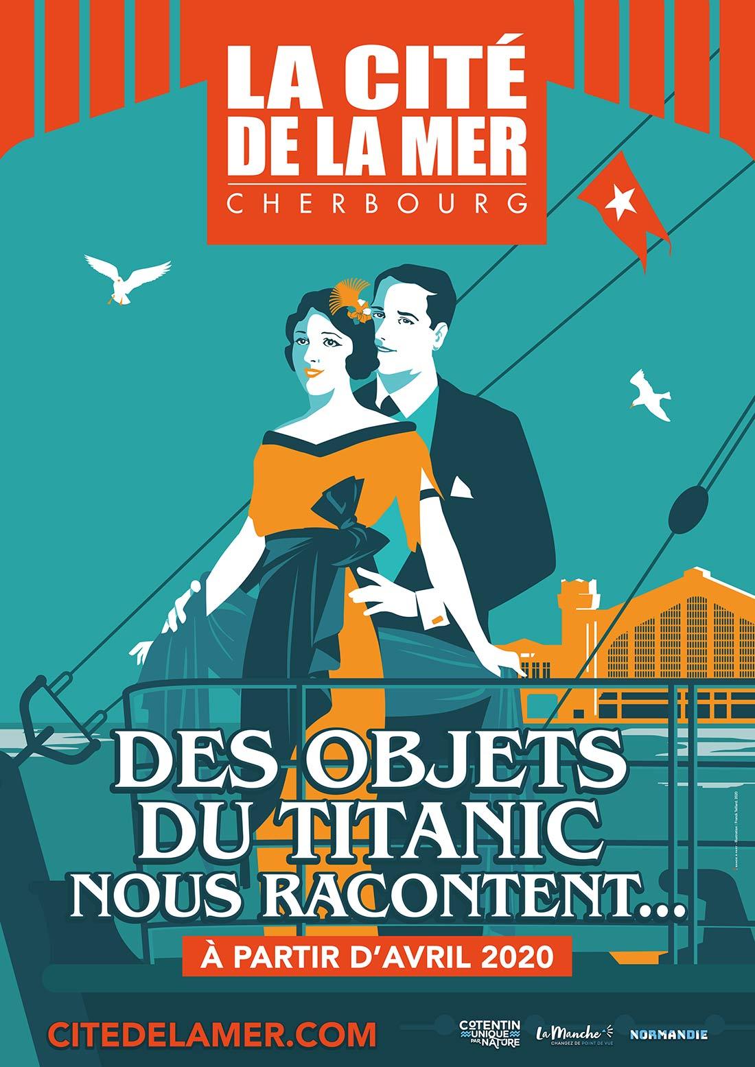 Exposition annulée les objets du Titanic